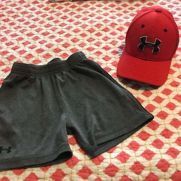 Under Armour Toddler Ball Cap and Shorts. M 5b79d0021070ee2efb782994 d6ef38d55f9